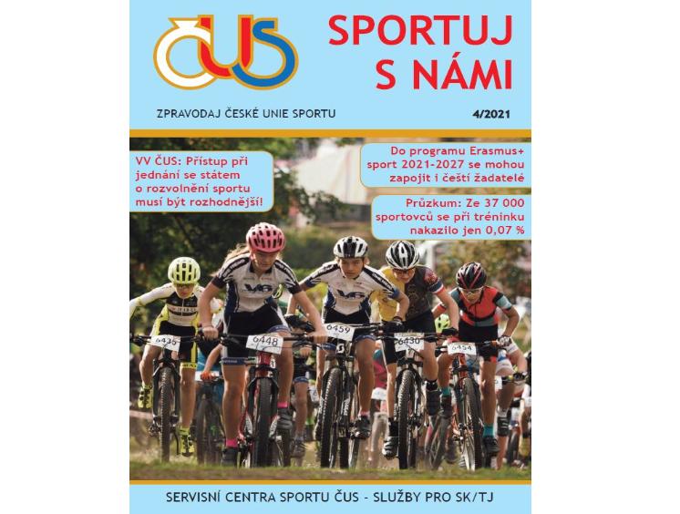 Zpravodaj České unie sportu č. 04/2021