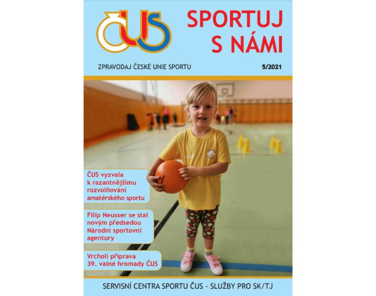 Zpravodaj České unie sportu č. 5/2021